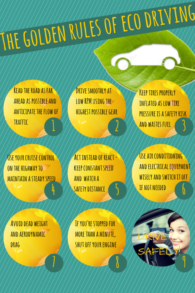 The golden rules of eco driving